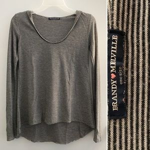 Brandy Melville striped long sleeve